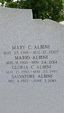 Gloria <i>Cucolo</i> Albini