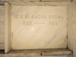 Icie Blanche <i>Menear</i> Brown