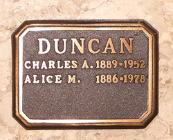 Alice Matilda Duncan
