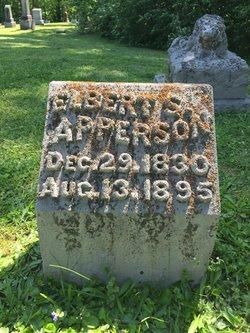 Elbert S Apperson