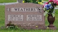 Mildred Louise <i>Henry</i> Weathers