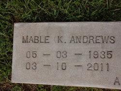 Mabel Kate <i>Jackson</i> Andrews