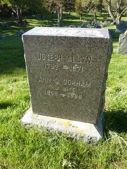 Ann D. <i>Gorham</i> Allyn