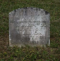 Eliza Jane <i>Neal</i> Boster
