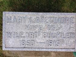 Mary Ann <i>Baltimore</i> Bucklen