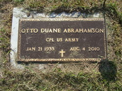 Otto Duane Abrahamson