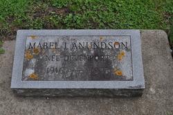 Mabel I. <i>Devenport</i> Anundson