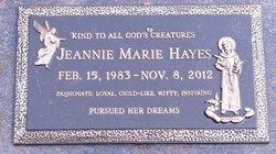 Jeannie Marie Hayes