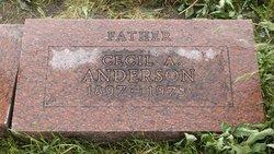 Cecil Anthon Anderson