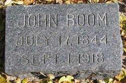 John (Jonas Jonsson) Boom