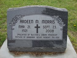 Ardeen Mildred <i>Anderson</i> Morris