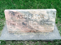 Edna Maria <i>Cochran</i> Anderson