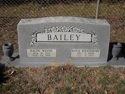 Nova <i>Weatherby</i> Bailey