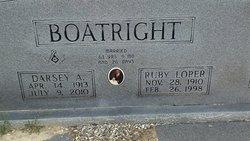 Ruby Rebecca <i>Loper</i> Boatright