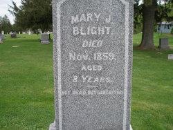 Mary <i>James</i> Blight