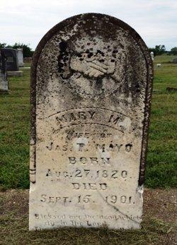 Mary M <i>Powell</i> Mayo