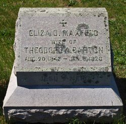 Eliza Davenport <i>Maxfeld</i> Barton