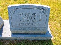 Bernadine L Barden