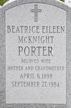 Beatrice Eileen <i>McKnight</i> Porter
