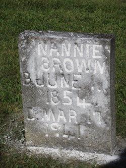 Nancy Nannie <i>LeForce</i> Brown