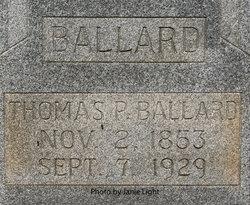 Thomas P. Ballard
