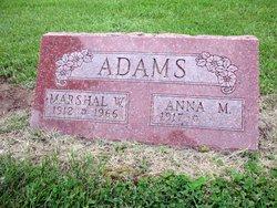 Marshall W Adams