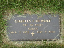 Charles F DeWolf
