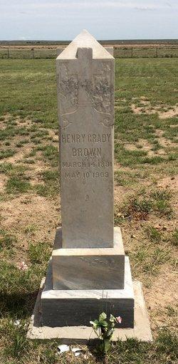 Henry Grady Brown
