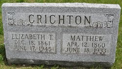 Matthew James Gardiner Crichton