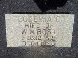 Lodemia Catherine <i>Ury</i> Bost