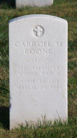 Carroll Merlin Boone