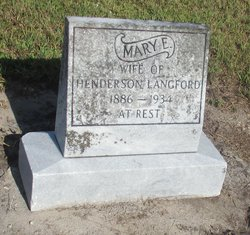 Mary Elizabeth Langford