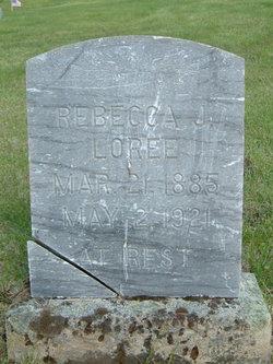 Rebecca Julia <i>Redifer</i> Loree