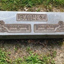 Sarah <i>Keefer</i> Bailey