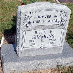 Ruth E Simmons