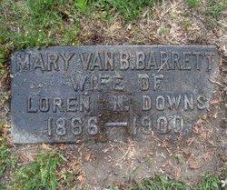 Mary Van Buren <i>Barrett</i> Downs