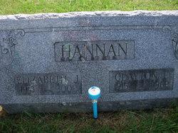 Elizabeth J. <i>Nash</i> Hannon