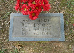 James Homer Rutherford