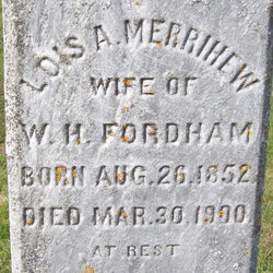 Lois A <i>Merrihew</i> Fordham