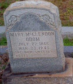Mary Ann <i>McClendon</i> Odom