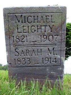 Sarah M <i>Beals</i> Leighty