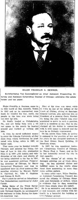 Gen Franklin Augustus Denison