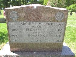 Archie L Merrill