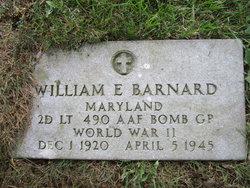Lieut William E Barnard