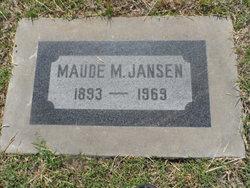 Maude May <i>Read</i> Jansen