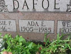 Ada E Dafoe