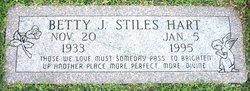 Betty J <i>Stiles</i> Hart