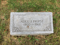 Alice Jean Grandma <i>Buchanan</i> Propst