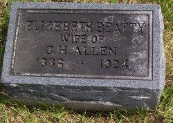 Amelia Elizabeth <i>Beatty</i> Allen