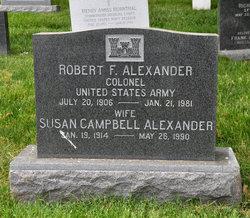Susan Rebecca <i>Campbell</i> Alexander